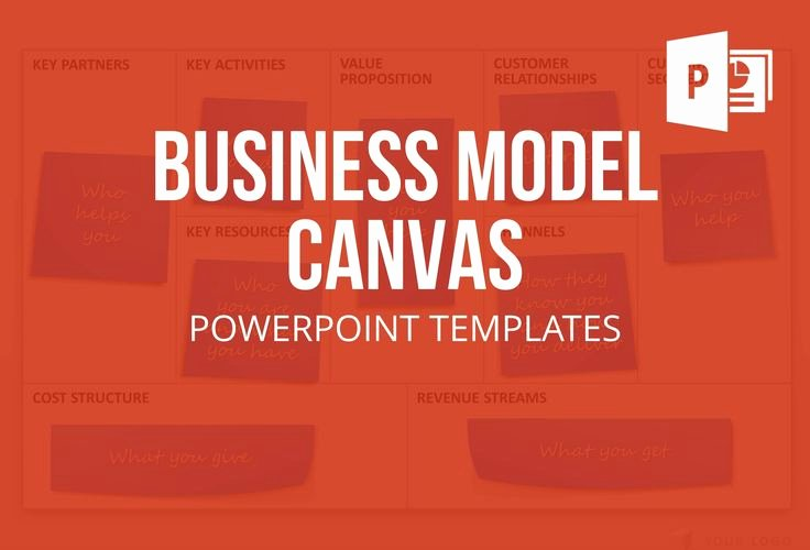 Business Canvas Template Ppt Awesome 37 Best Images About Business Model Canvas Powerpoint