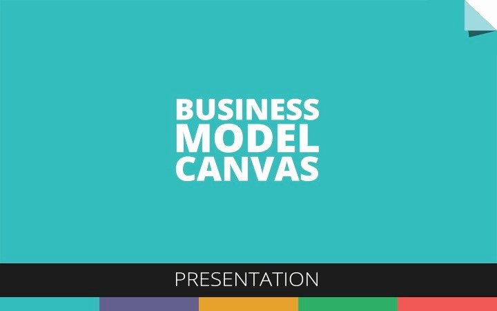 Business Canvas Template Ppt Luxury Business Model Canvas Presentation by socialwebcl