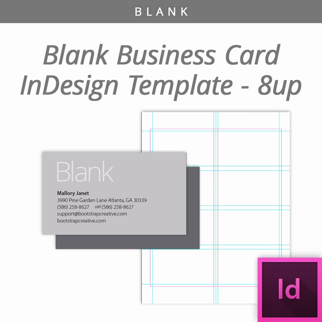 Business Card Layout Template Awesome Blank Indesign Business Card Template 8 Up Free Download
