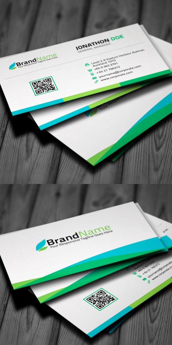 Business Card Layout Template Awesome New Corporate Business Card Templates Design