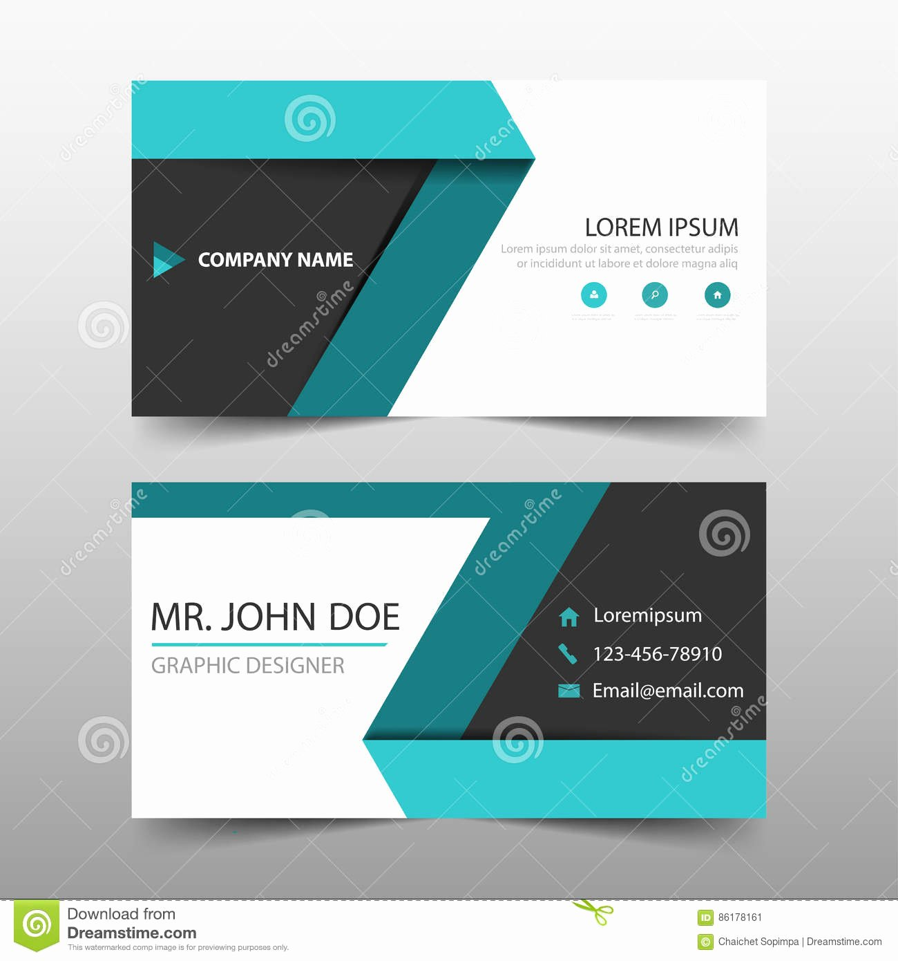 Business Card Layout Template Fresh Green Label Corporate Business Card Name Card Template