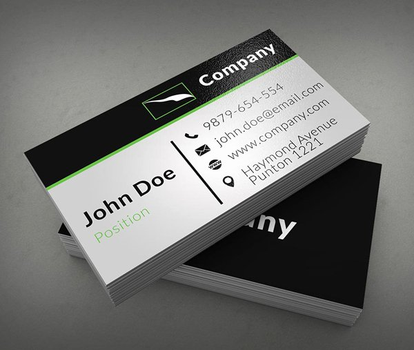 Business Card Layout Template Inspirational Free Business Cards Psd Templates Print Ready Design