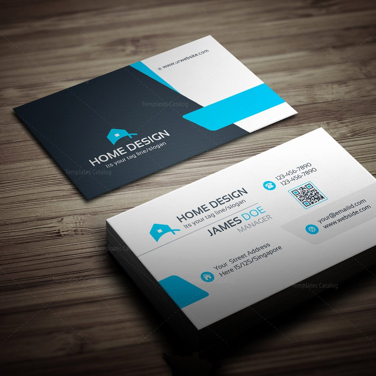 Business Card Layout Template Inspirational Home Design Business Card Template Template Catalog