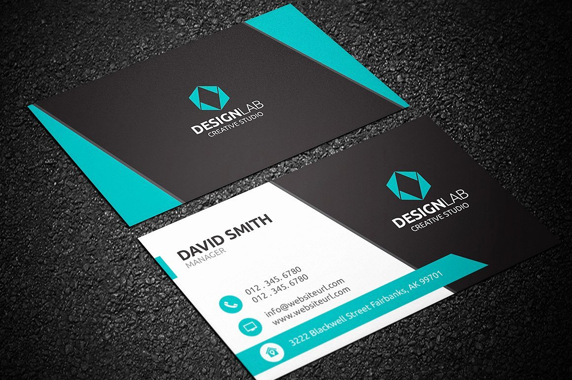Business Card Layout Template Luxury Modern Business Card Template Business Card Templates