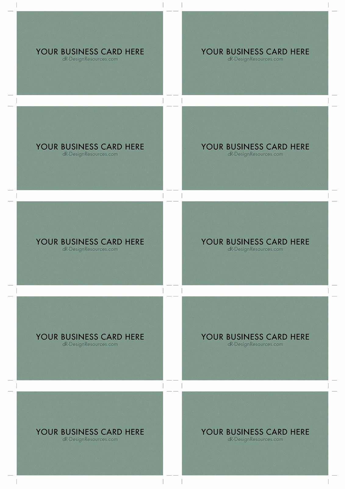 Business Card Sheet Template Luxury 10 Business Card Template Business Card Design