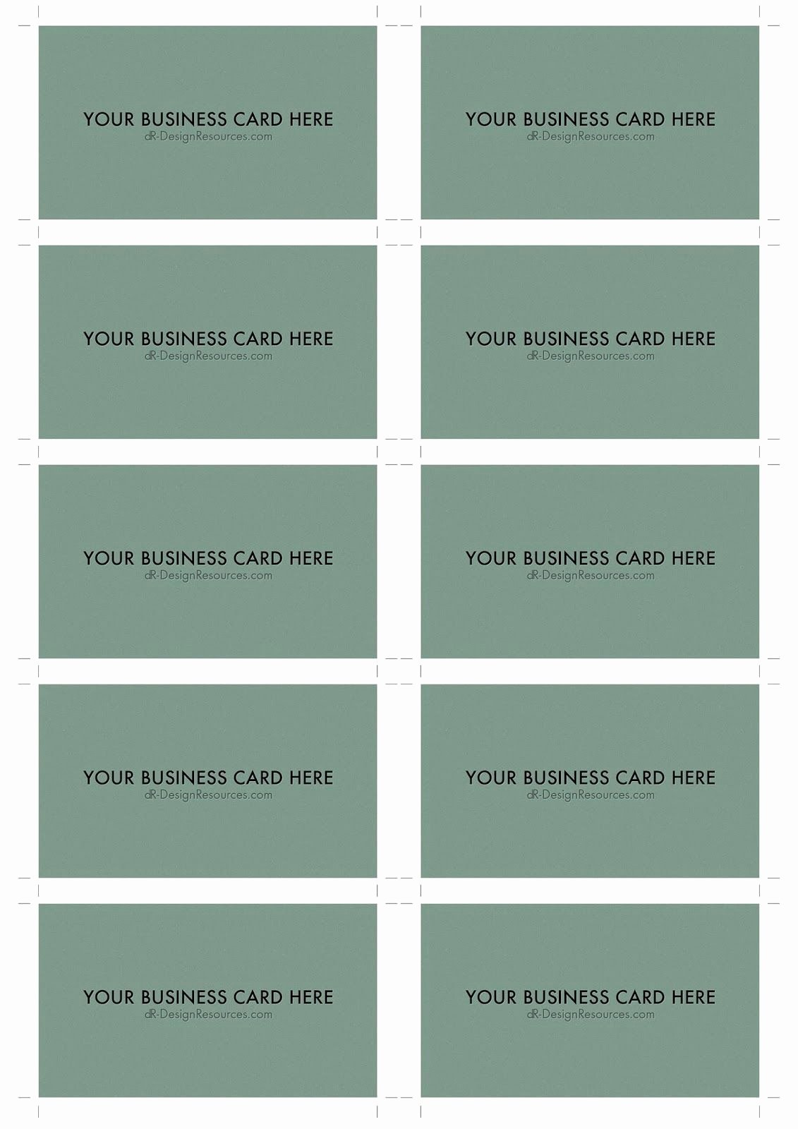 Business Card Sheet Template Unique 10 Business Card Template – Free Sample Business Card
