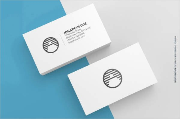 Business Card Template Blank Elegant 28 Blank Business Card Templates Free Psd Ai Vector