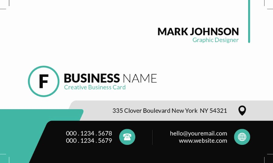 Business Card Template Free Printable Unique 43 Free Business Card Templates Free Template Downloads