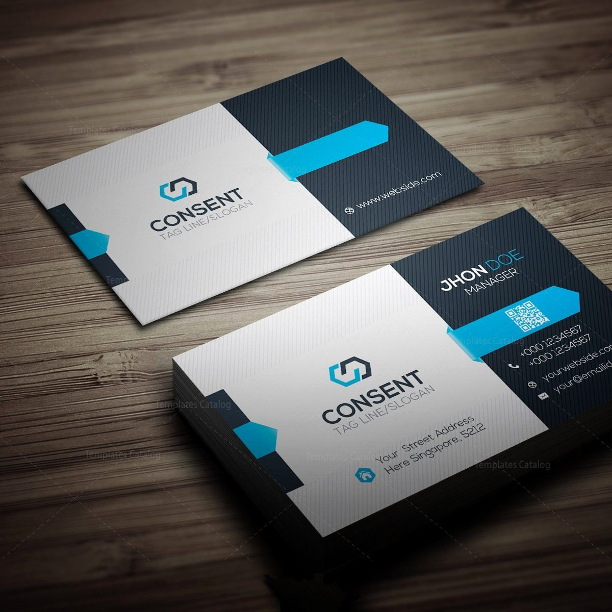 Business Card Template Printable Inspirational Consent Business Card Template Template Catalog