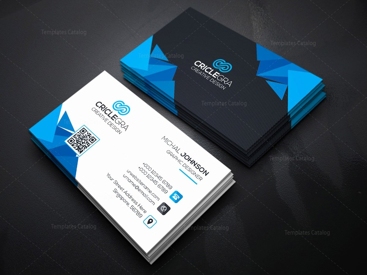 Business Card with Photo Template Beautiful Psd Corporation Business Card Template Template