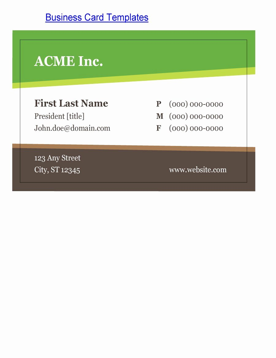 Business Card with Photo Template Best Of 43 Free Business Card Templates Free Template Downloads