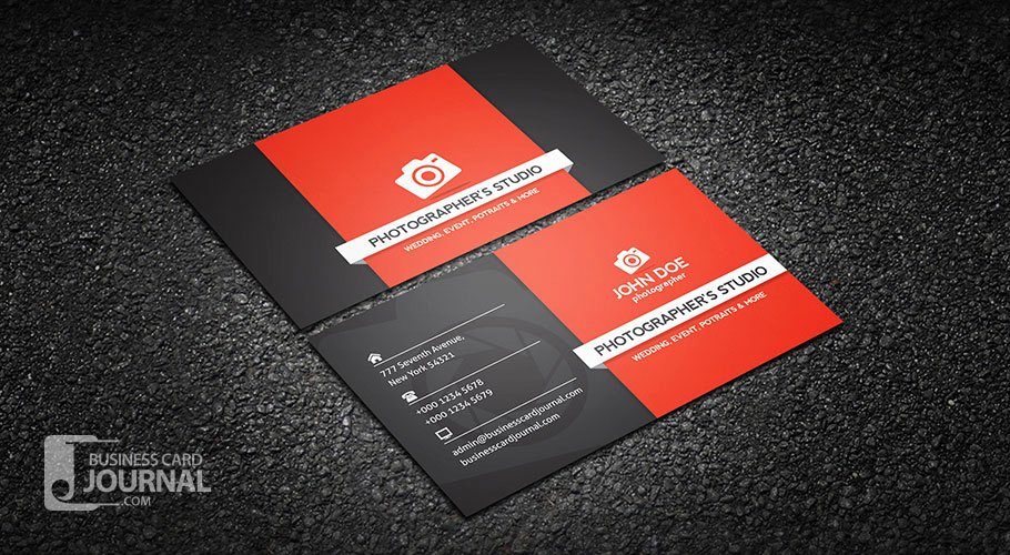 Business Card with Photo Template Best Of Free Graphy Business Card Templates Business Card