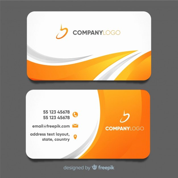 Business Card with Photo Template Best Of Free Logo Design Template Vectors S and Psd Files