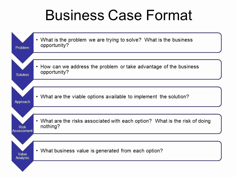 Business Case Template Excel Best Of Business Case Template In Word