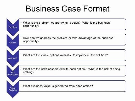 Business Case Template Excel Elegant Business Case Template Ppt