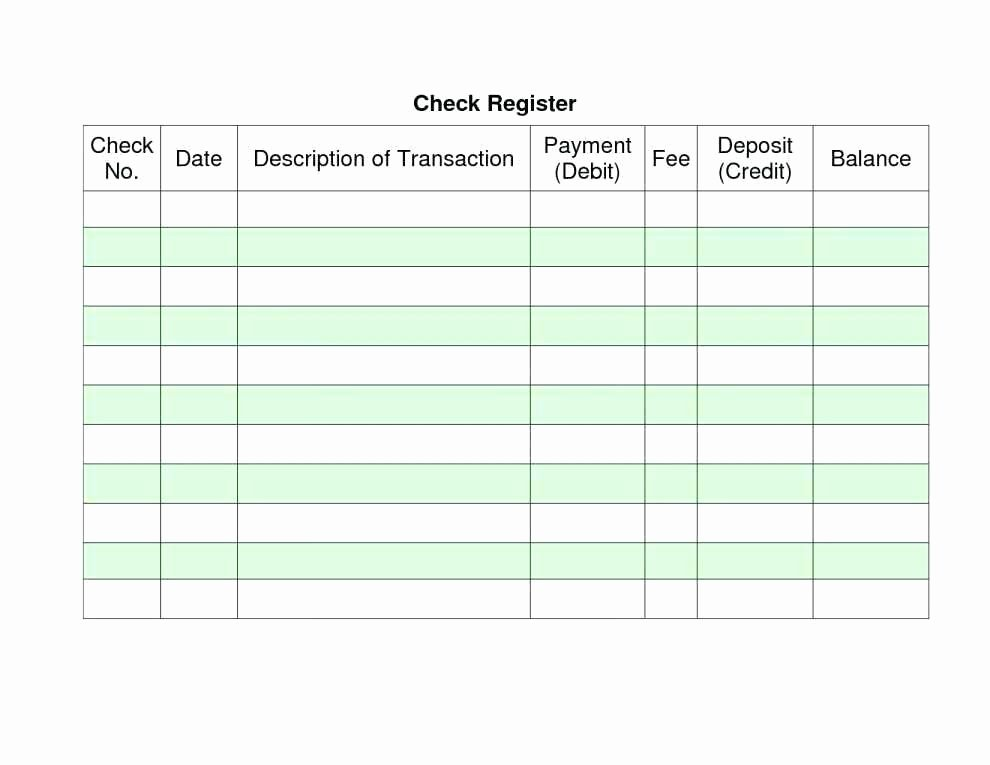 Business Check Register Template New Check Register Print Out – Stingerworld