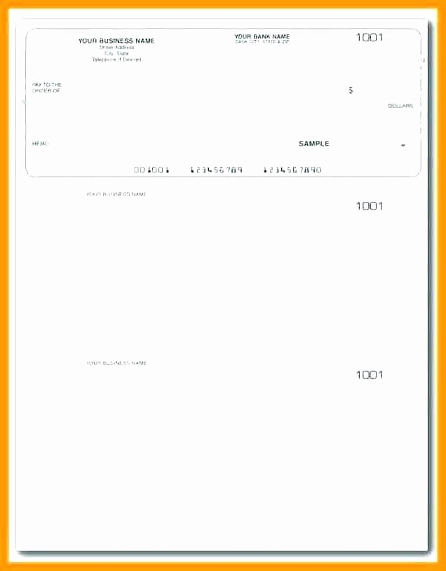 Business Check Template Excel Beautiful 99 Business Check Template Excel Blank Business Check