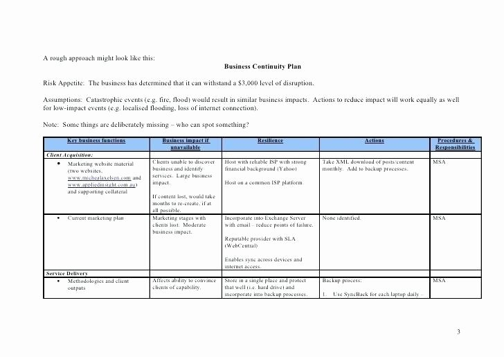Business Contingency Plan Template New Simple Checklist Template Word Cialisvbsfo