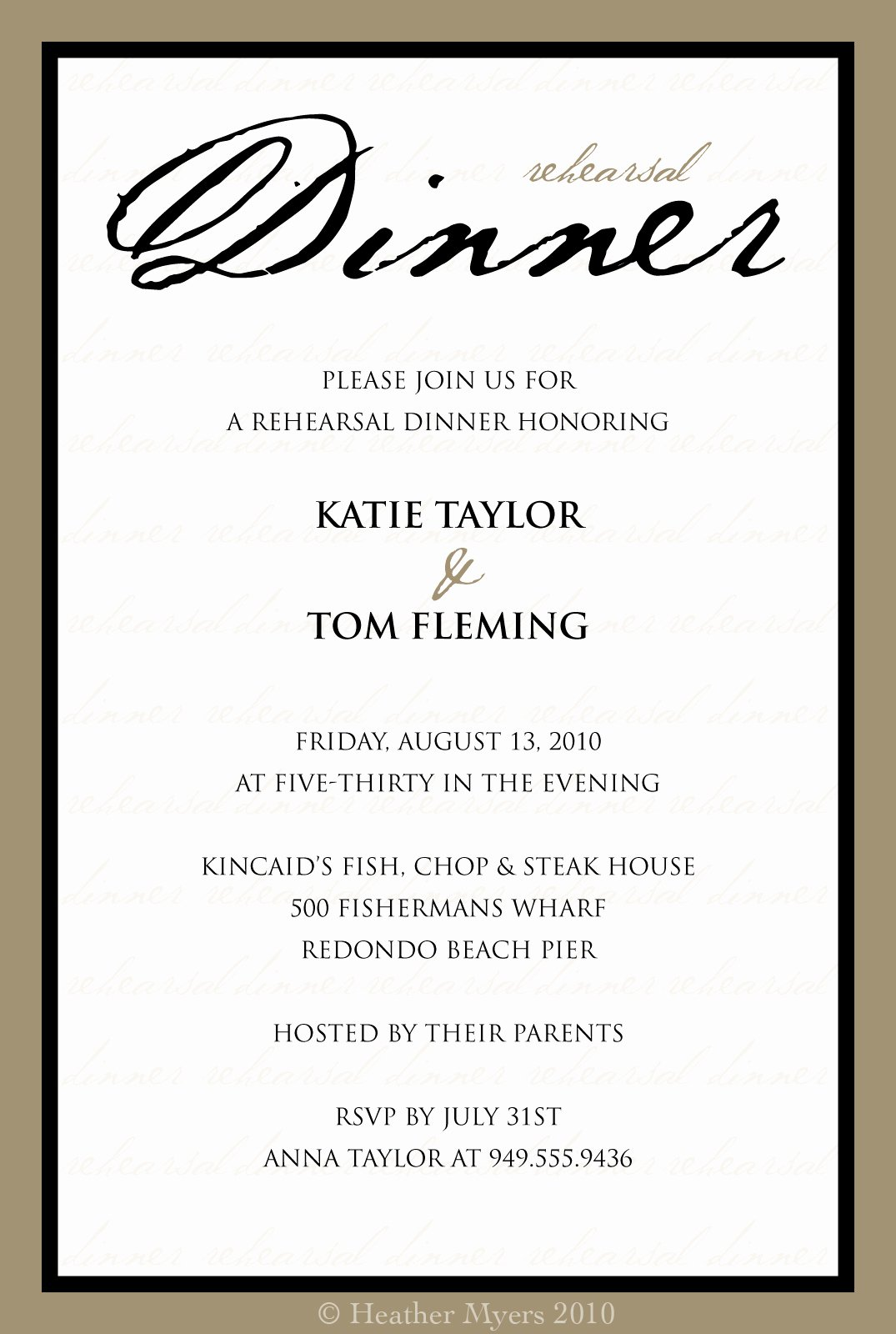Business Dinner Invitation Template Elegant 10 Best Of Dinner Invitation Template formal
