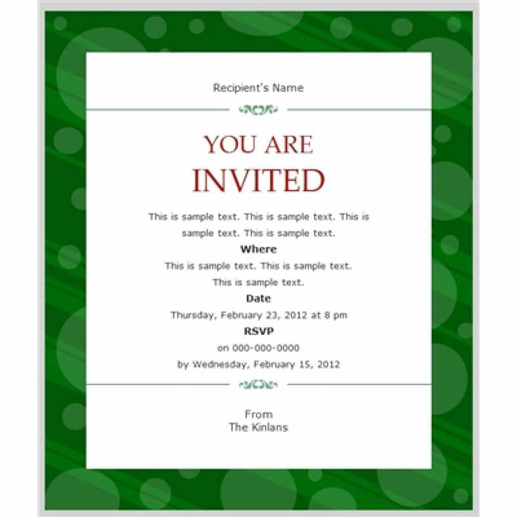 Business Dinner Invitation Template Fresh Business Invitation Templates Free