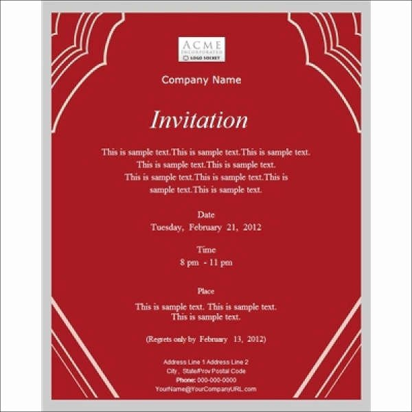 Business Dinner Invitation Template Lovely 11 Work Dinner Invitations Word Psd Publisher