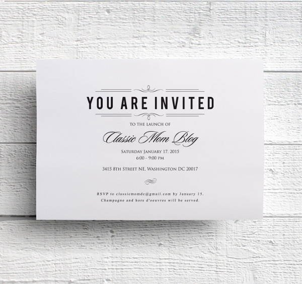 Business Dinner Invitation Template Lovely 56 Dinner Invitation Templates In Psd