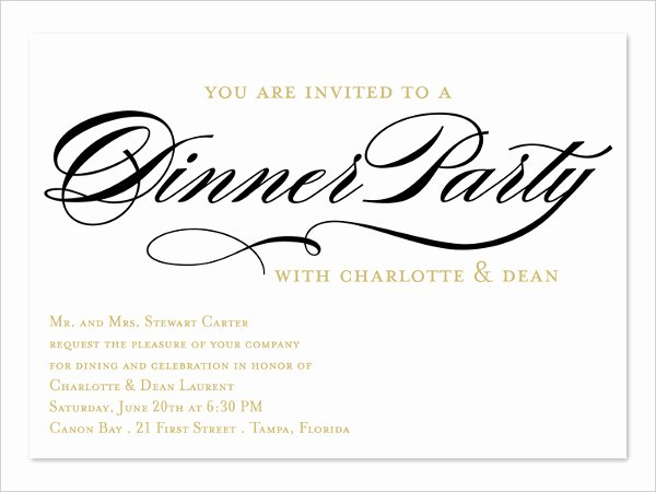 Business Dinner Invitation Template Lovely 64 Invitation Card Designs Psd Ai