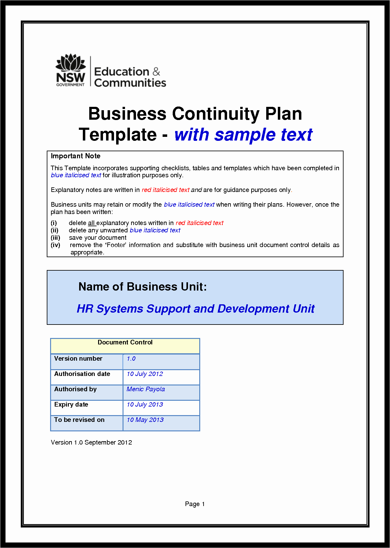 Business Disaster Recovery Plan Template Luxury Download the Role Biotechnology In A Sustainable Food