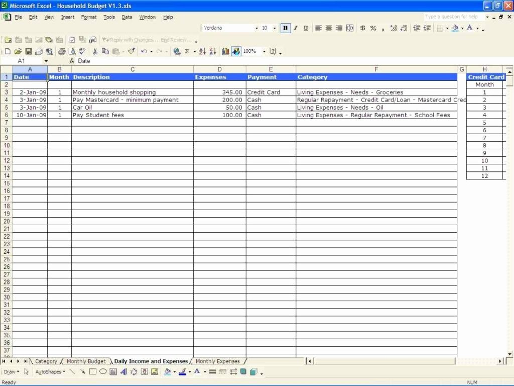 Business Expenses Excel Template Lovely Monthly Business Expense Sheet Template Expense