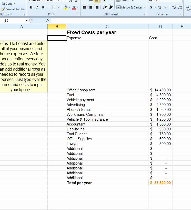 Business Expenses List Template Awesome Advanced Excel Know Your Costs