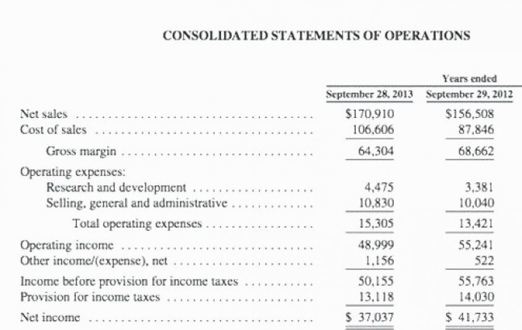 Business Income Statement Template Unique 13 Financial Statement Blank form Irpens