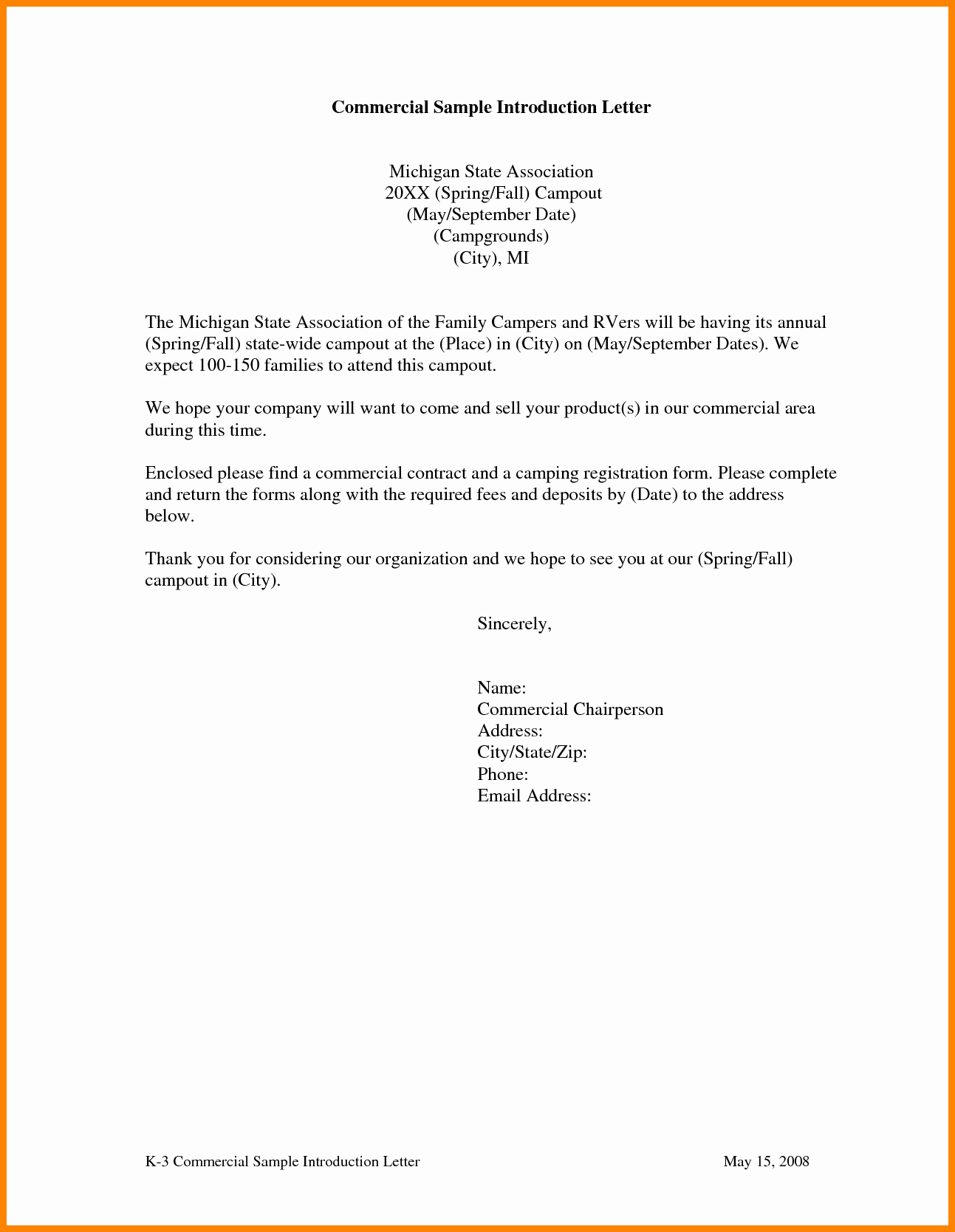 Business Introduction Letter Template Beautiful 6 Subcontractor Introduction Letter