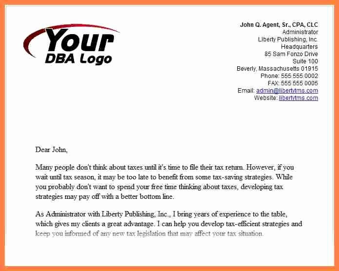 Business Introduction Letter Template Elegant 6 Introduction Letter Of New Pany