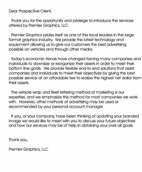 Business Introduction Letter Template Unique 35 Introduction Letter Samples