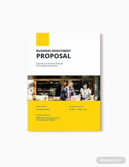 Business Investment Proposal Template Inspirational 27 Investment Proposal Templates Pdf Doc