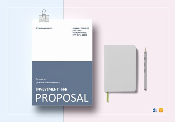 Business Investment Proposal Template Inspirational 28 Free Proposal Templates Microsoft Word format Download