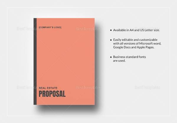 Business Investment Proposal Template Unique 10 Real Estate Proposal Templates