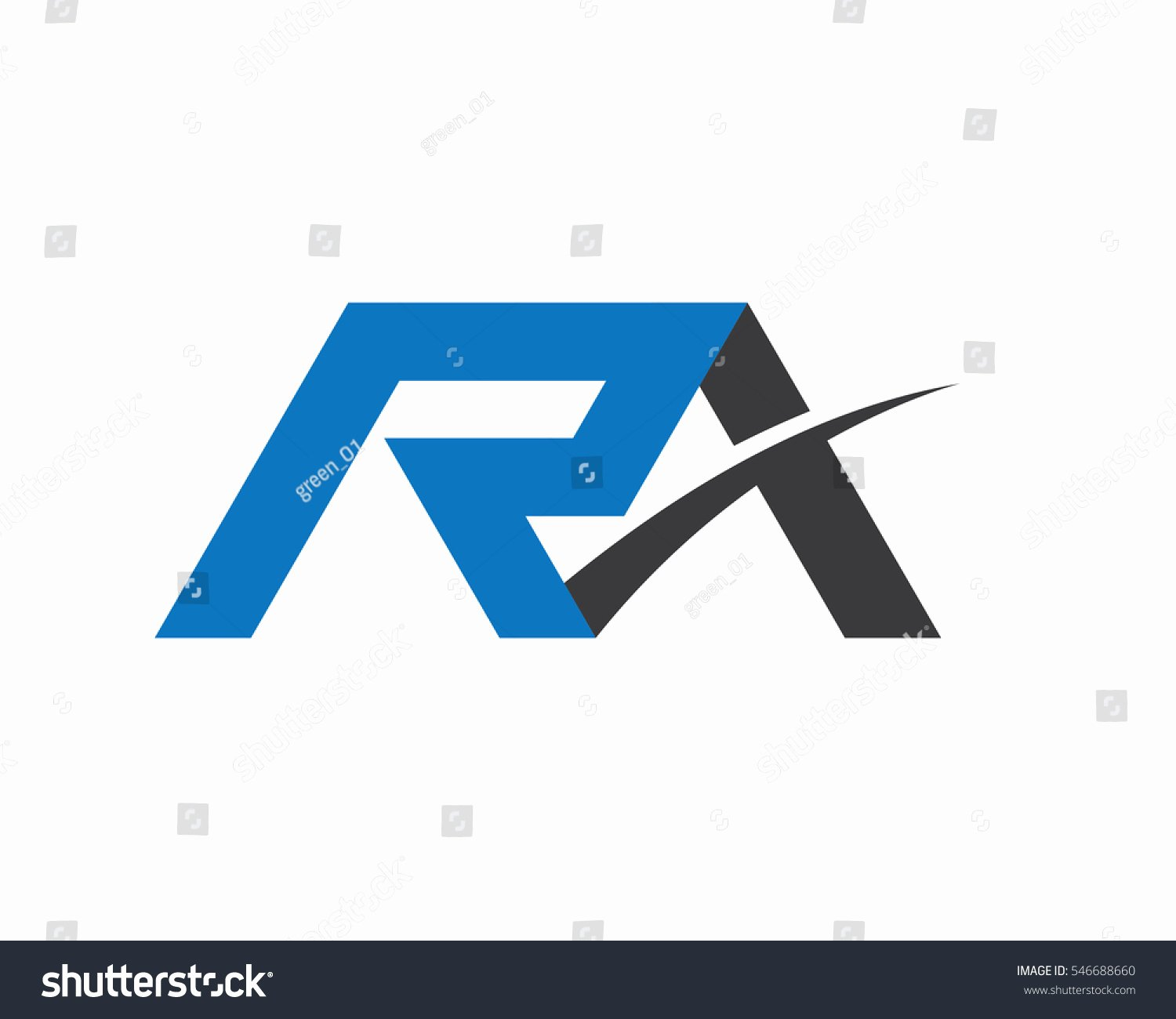 Business Letter Template with Logo Awesome R Letter Logo Business Professional Logo Stock Vector