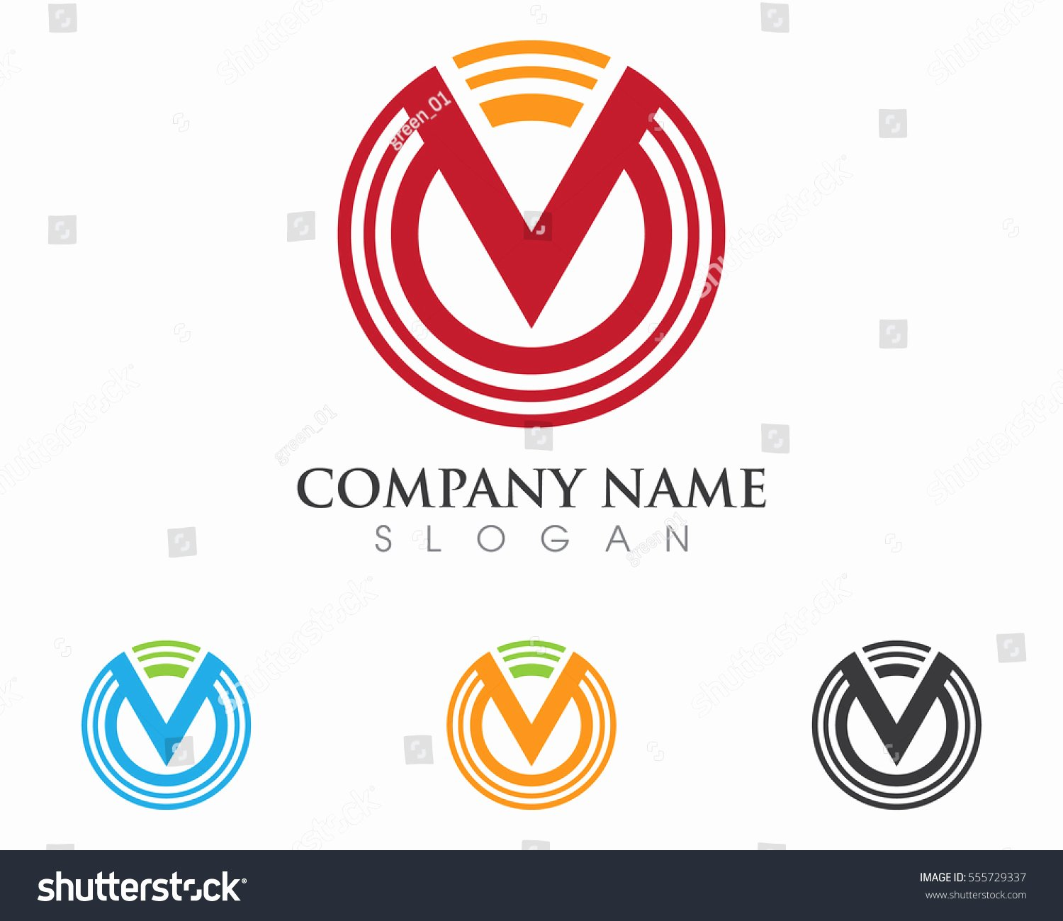 Business Letter Template with Logo Fresh V Letter Logo Business Template Vector Stock Vector