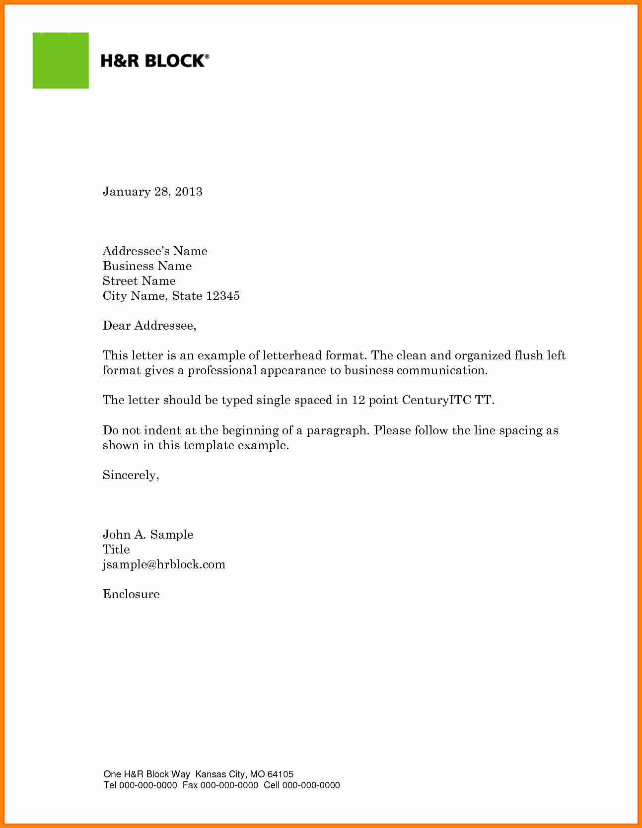 Business Letter Template with Logo Lovely Business Letter with Logo