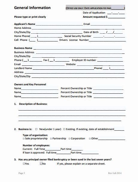 Business Loan Application Template Elegant 9 Business Loan Application form Templates Pdf