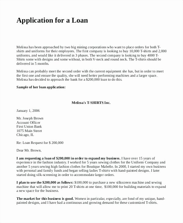 business loan request letter template plan for bank proposal sample pdf