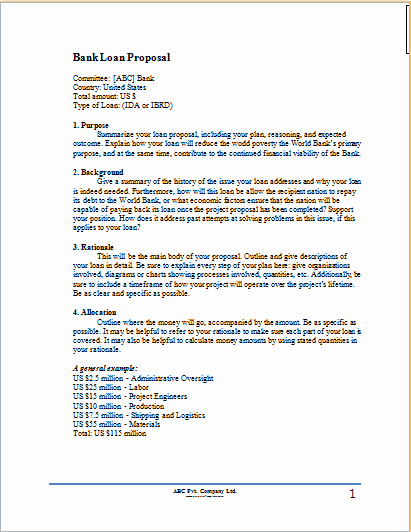 Business Loan Proposal Template Best Of Small Business Plan Executive Summary Example