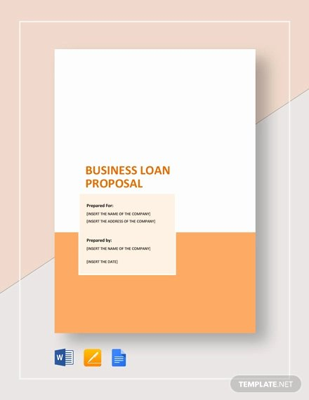 Business Loan Proposal Template Elegant 28 Sample Business Proposal Templates Word Pdf Pages
