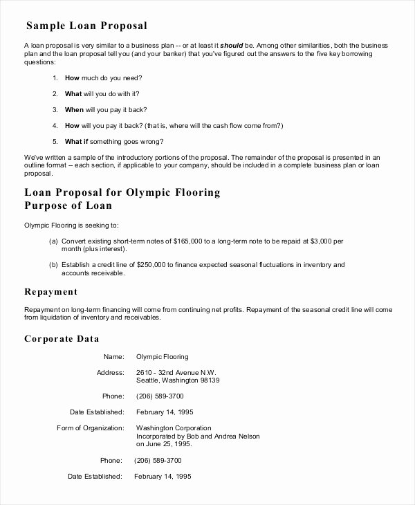 Business Loan Proposal Template Lovely Business Loan Proposal Template – Pewna Apteka