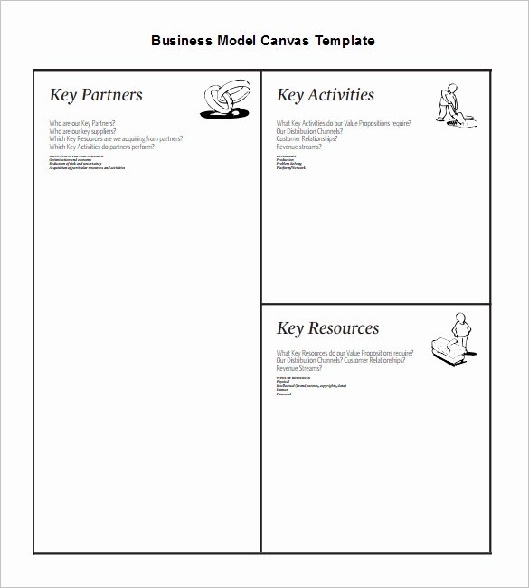 Business Model Canvas Template Word Best Of 20 Business Model Canvas Template Pdf Doc Ppt