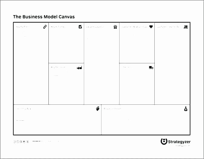 Business Model Template Word Lovely Business Model Canvas Template New Ideal Value Proposition