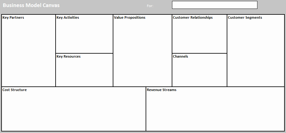 Business Model Template Word Lovely Business Model Templates for Word Excel and Pdf