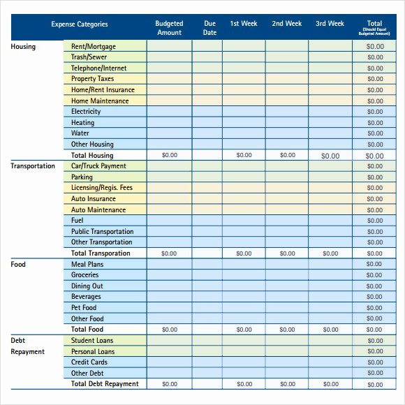 Business Monthly Budget Template Beautiful 10 Monthly Bud Samples