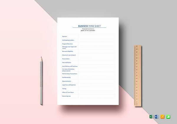 Business One Sheet Template Beautiful E Sheet Template 12 Free Word Pdf Documents Download